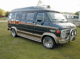 Chevrolet Starcraft High Top Van