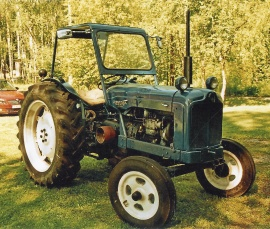 Veteran Fordson Major diesel