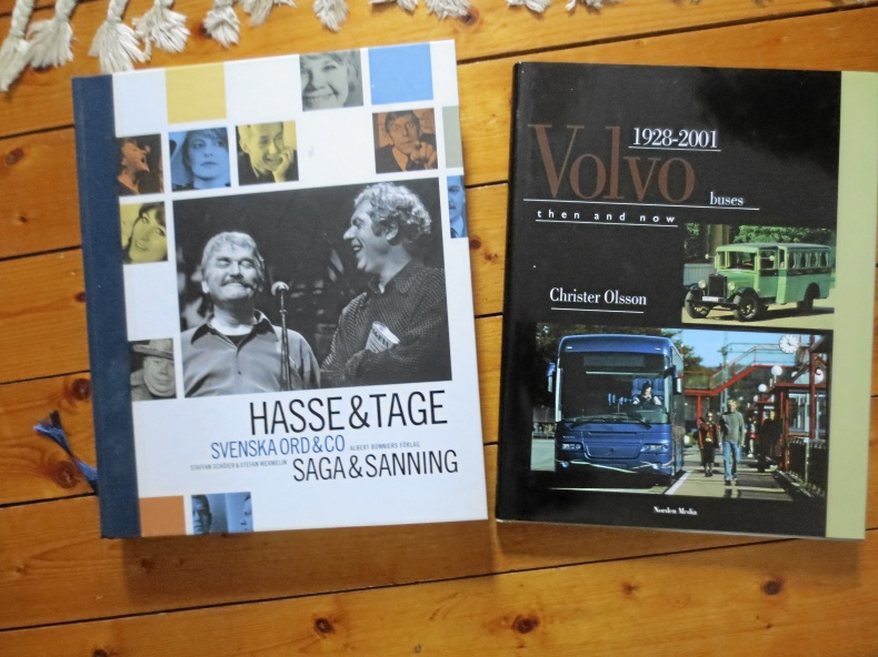 Volvo buses och Hasse & Tage