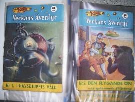 Serietidningar Jule Verne Veckans Äventyr