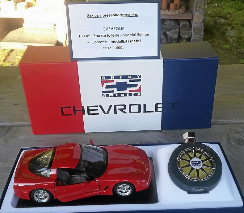 Chevrolet Corvette modellbil