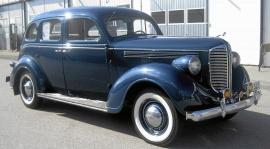Dodge D8 Senior 1938. Veteranbil