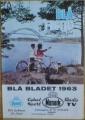 Monark Blå Bladet cyklar och mopeder 1963