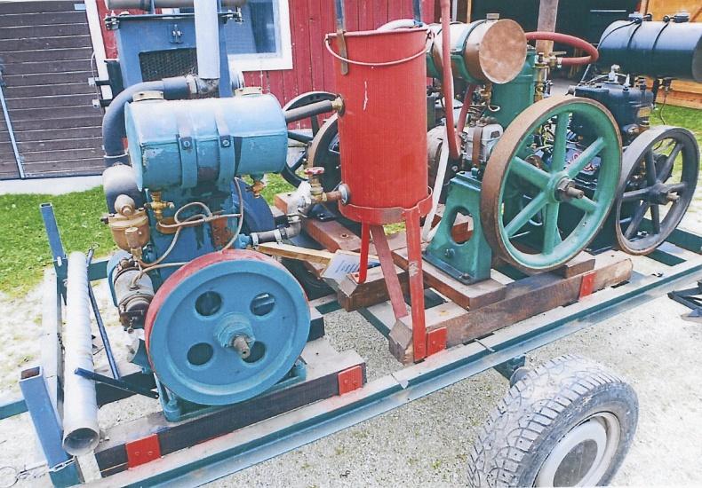 Traktordelar motorer