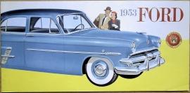 Broschyr Ford 1953