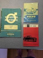 PV 444 och 544 - diverse litteratur
