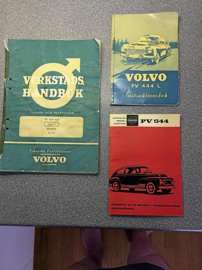 PV 444 - diverse litteratur