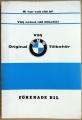 BMW tillbehör 00-serien 1967?