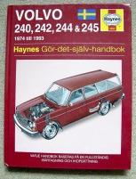 Gör-det-själv-handbok VOLVO 240