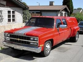 Chevrolet Crew Cab 3500