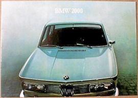 Broschyr BMW 2000 1966
