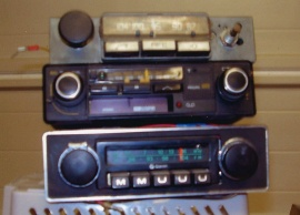Bilradioapparater