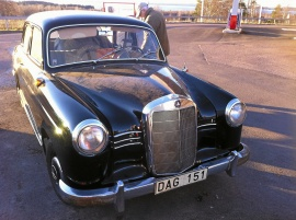 Mercedes-Benz 180 Bulle