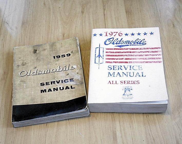 Oldsmobile Manualer