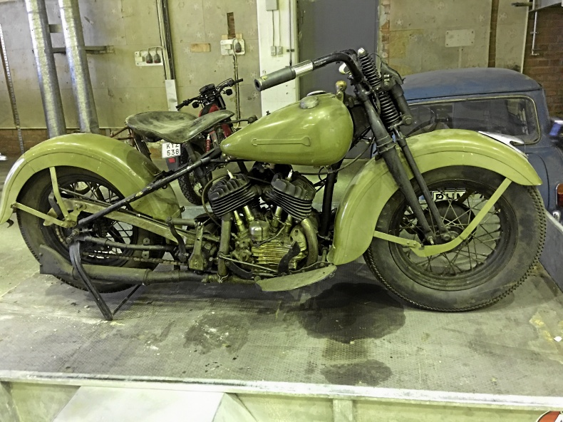 mobile_Harley-Davidson Motorcykel Flat Head