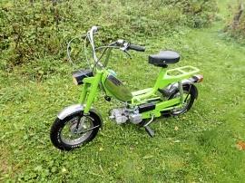 Björn Borg-moped