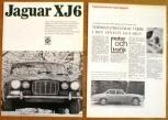 Broschyr Jaguar XJ6 1968