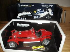 1:18 Formula 1 R. Schumacher och Alfa Romeo