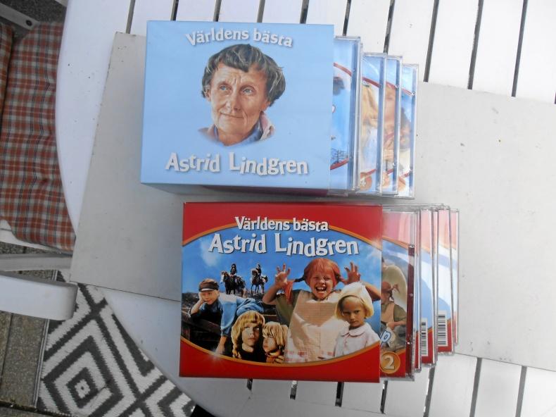 Astrid Lindgren 2 stycken förpackningar 10+9 st