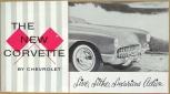 Broschyr Chevrolet Corvette 1956