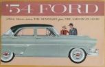 Broschyr Ford 1954