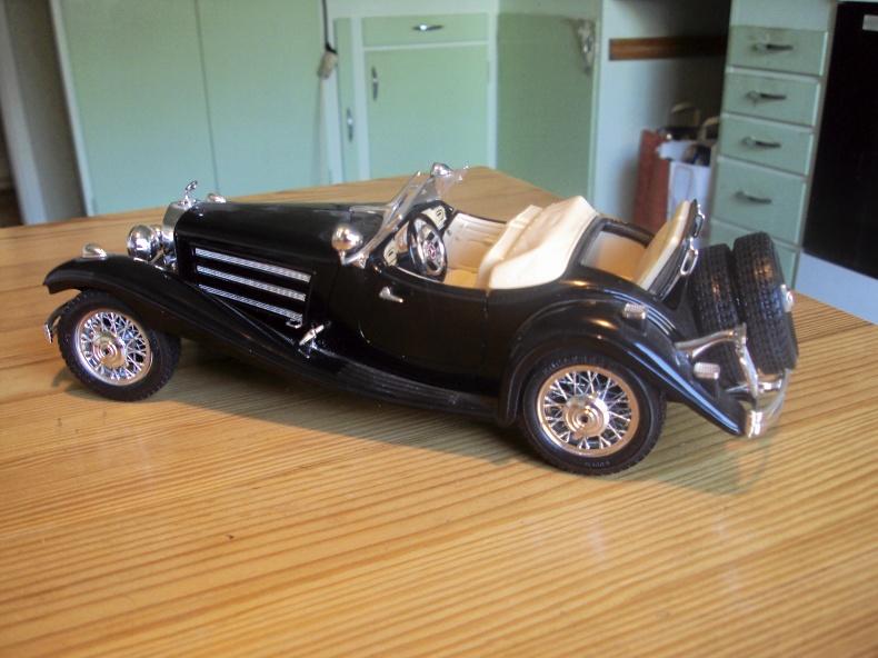 1:18 MERCEDES 500 K Roadster -36
