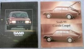 Saab-broschyrer