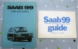 Saab 99 GDS och instruktionsbok
