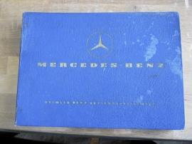 Reservdelskataloger m.m. till Mercedes