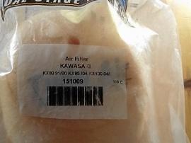 Luftfilter till Kawasaki