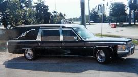 Cadillac Miller Meteor Hearse begravningsbil