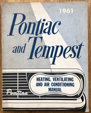 Shop manual tillägg till Pontiac och Tempest 1961