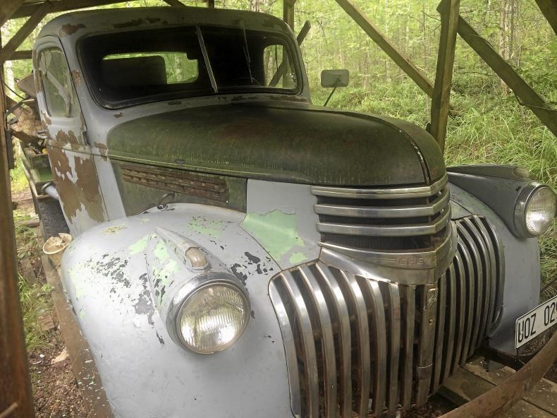 Chevrolet med flak