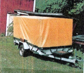 Släpvagn ÅTM V65 med kapell