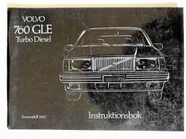 Instruktionsbok Volvo 760