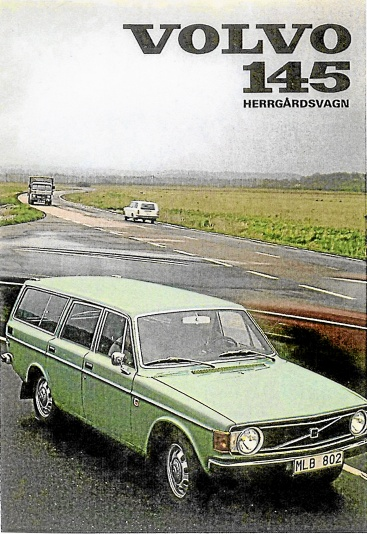 Volvo Originalbroschyr 1973