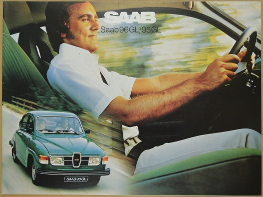 Broschyr Saab 96GL 95GL 1978