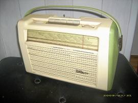 Philips radio med batteridrift