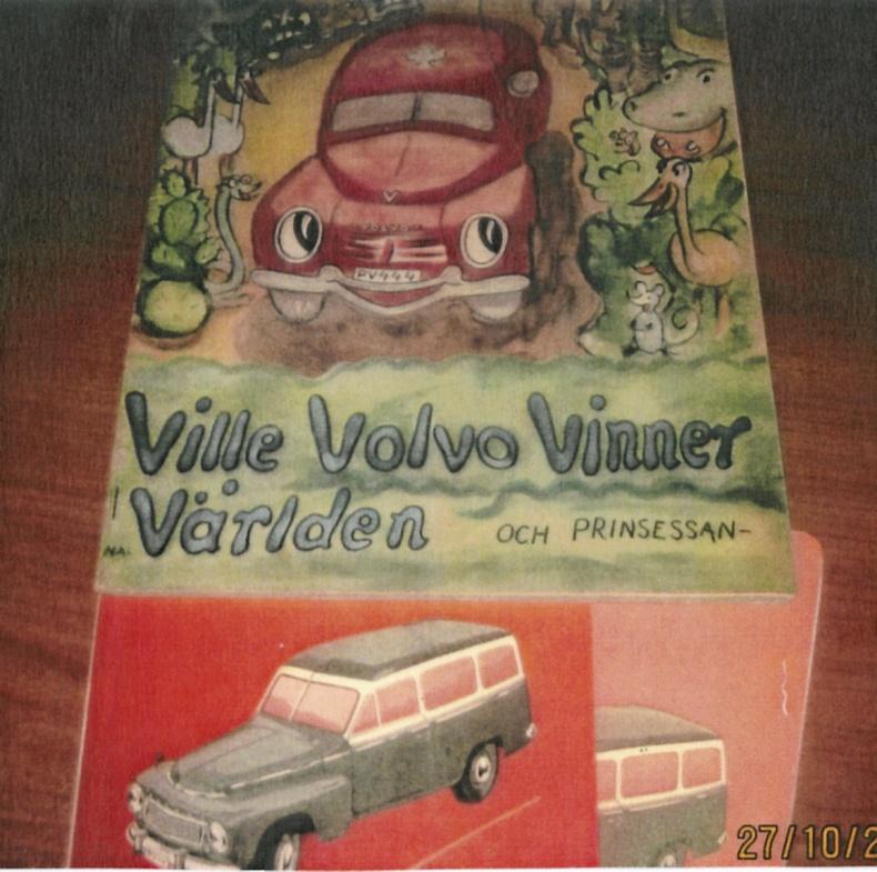 Sagobok Volvo