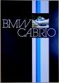 Broschyr BMW Bauer Cabrio 1980