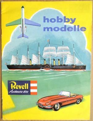 Katalog över Revell plastmodeller på svenska