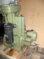Berg-stationär motor