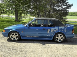 Ford Escort XR3i cab