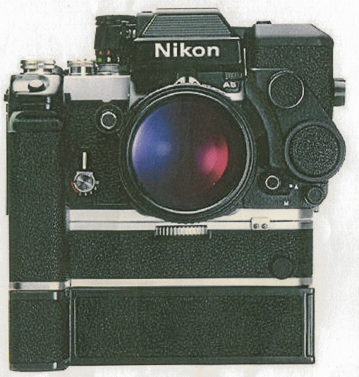 Nikon samlarkamera svart F2AS