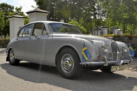 Jaguar MKII 240 4-vxl med OD