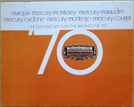 Broschyr Mercury 1970