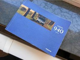 Volvo 940 instruktionsbok