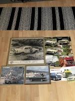 Peugeot tavlor och broschyrer