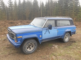 Jeep cherokee chief