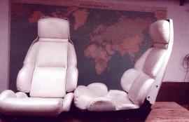 2 st Corvette-stolar C4